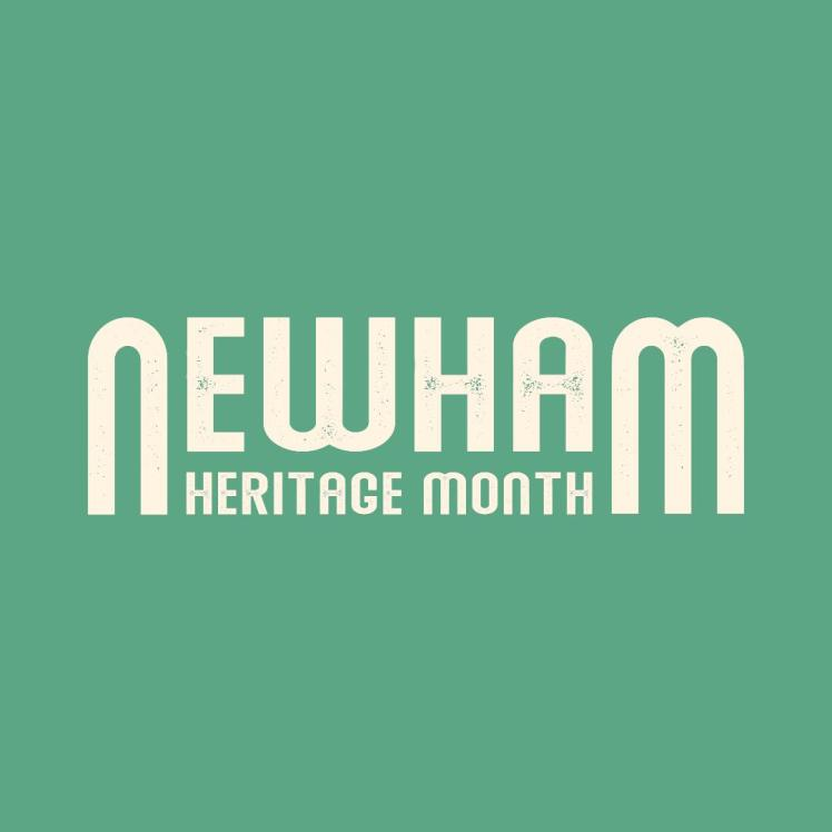 Newham Heritage Month logo for June